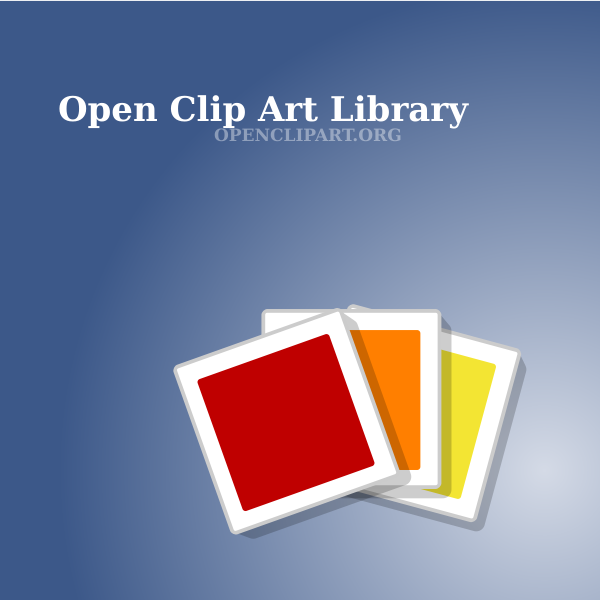 CD cover for open clip art vector images