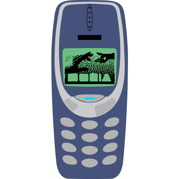 Vector image of cellphone