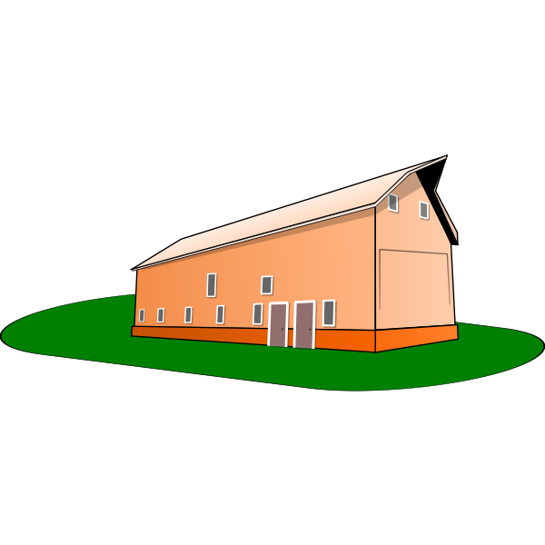 Barn vector graphics