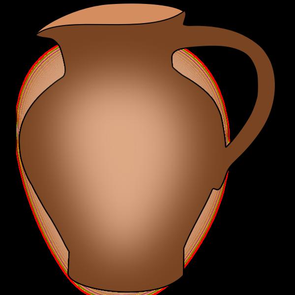 Simple ceramic pot