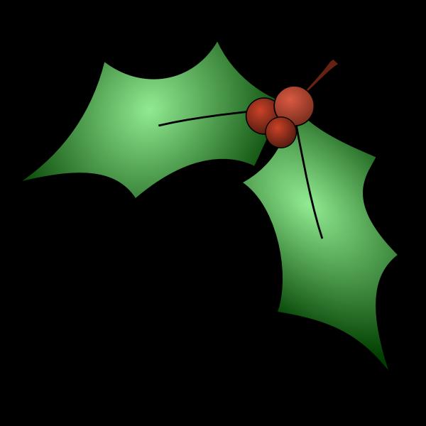 Holly Tree Vector