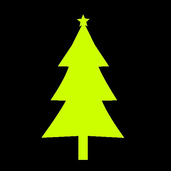 Christmas tree lime color