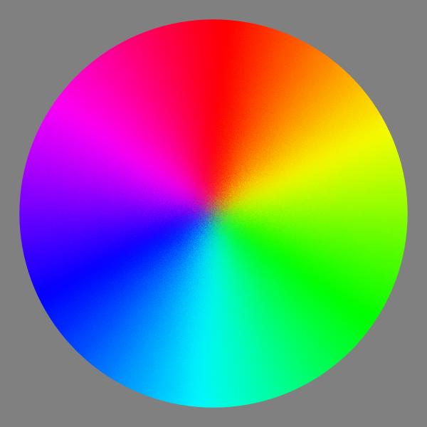 Color spectrum wheel