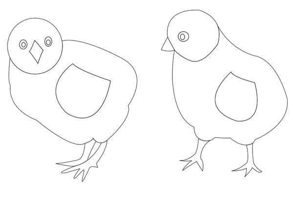 chicks-vector-coloring
