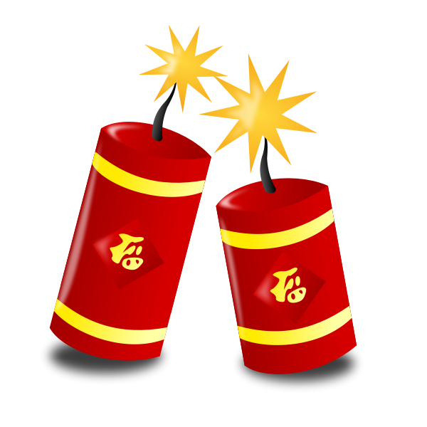 Chinese New Year icon vector graphics
