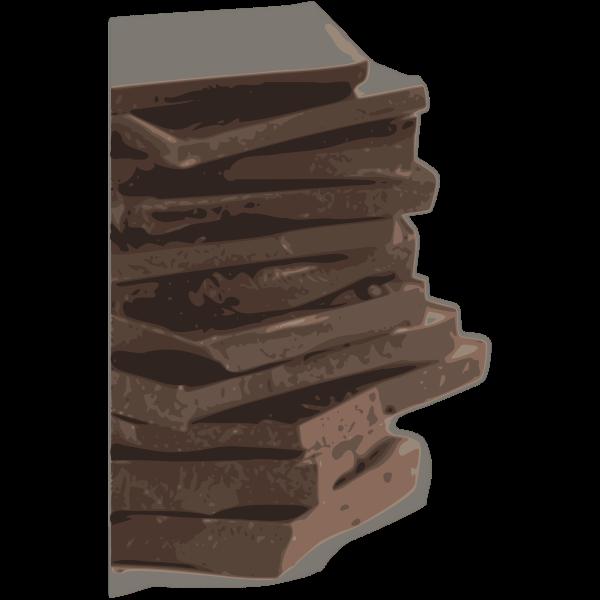Chocolate Block Pieces (Tracing)