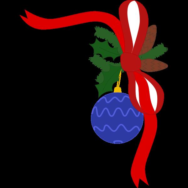 Christmas decoration flip