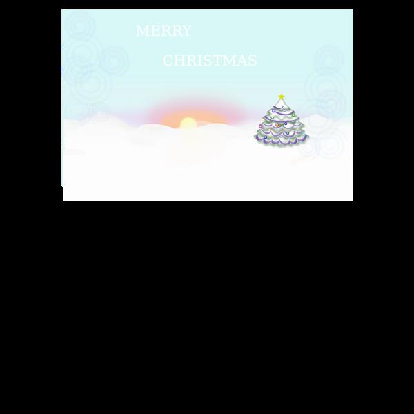 Christmas Scene -Vector