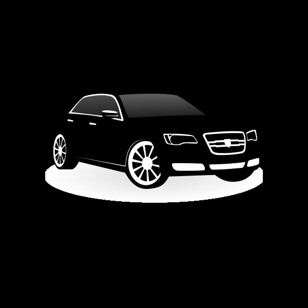 Chrysler 300c vector