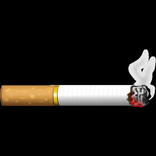 Burning Cigarette | Free SVG