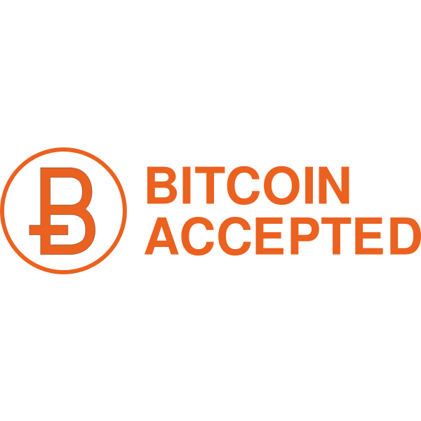Bitcoin Accepted Sign