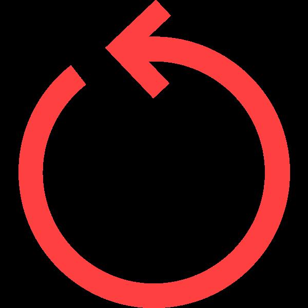 circular arrow red
