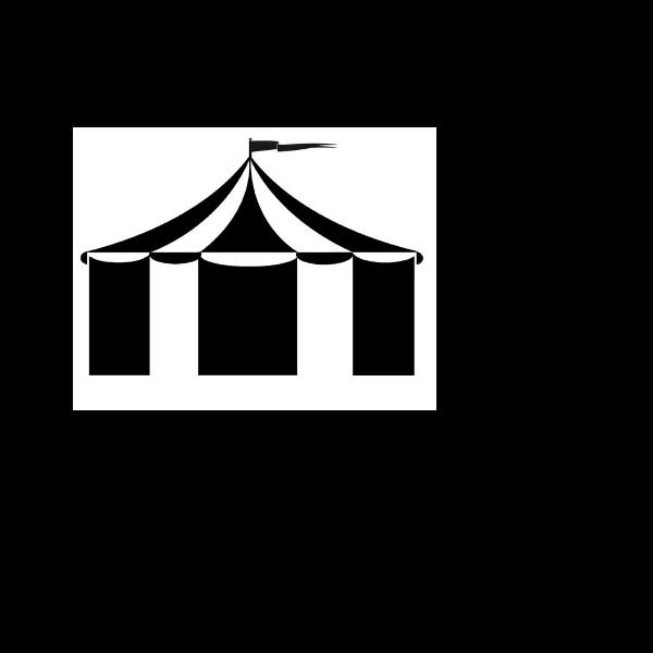 Circus tent image