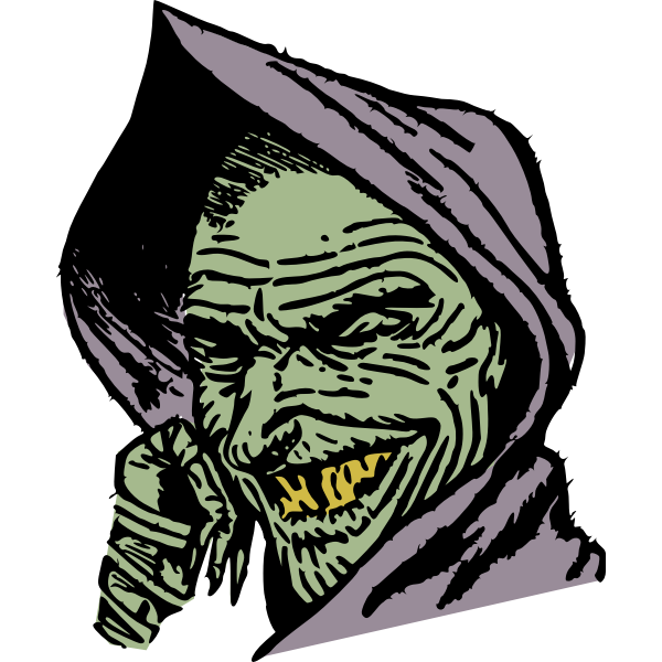 Cloaked goblin