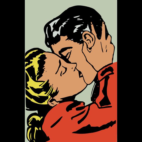 Close kiss