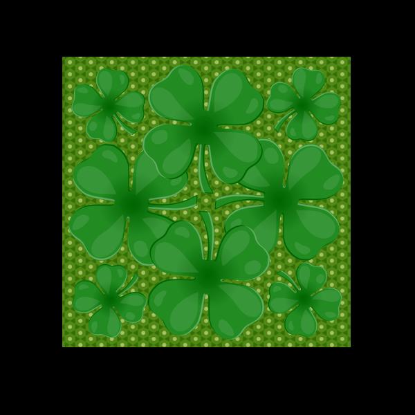Clover leaves vector clip art