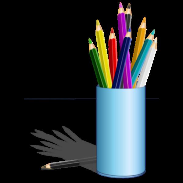 Coloring pencils set