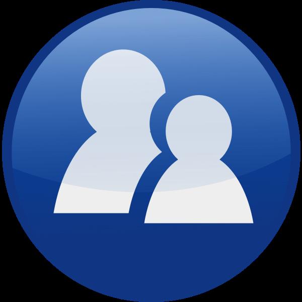 Communicator vector icon image