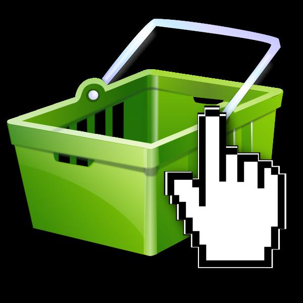 eShop icon vector image