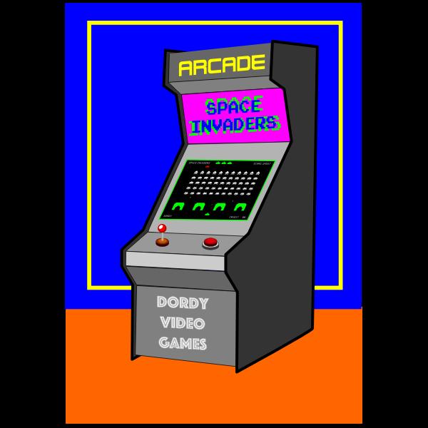 Arcade video games machine