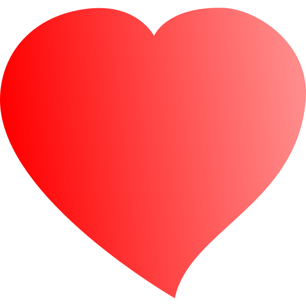 Vector image of heart