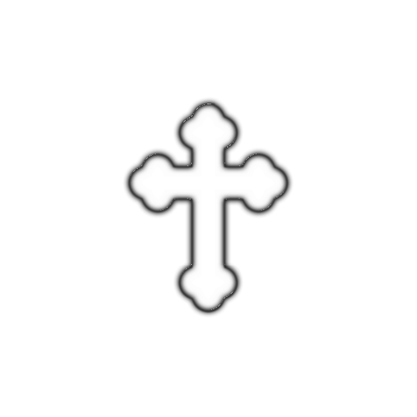 Vector image of symbol of faith
