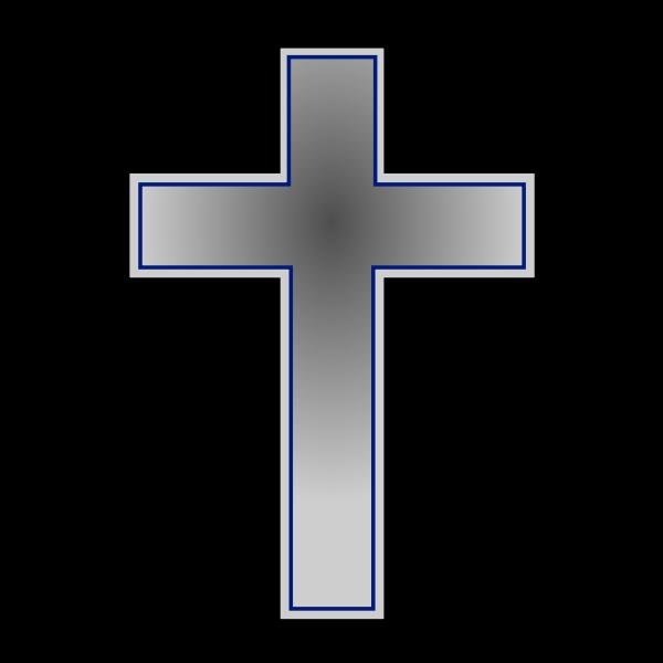 Cross symbol vector graphics