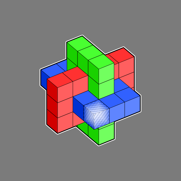 Vector cubes image