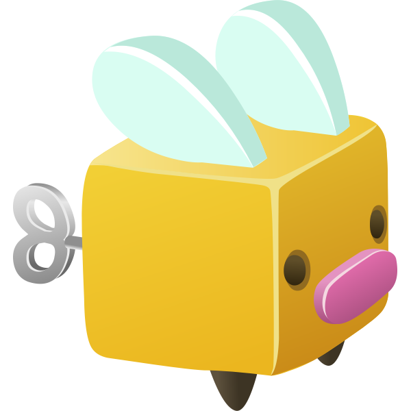 Cute toy box