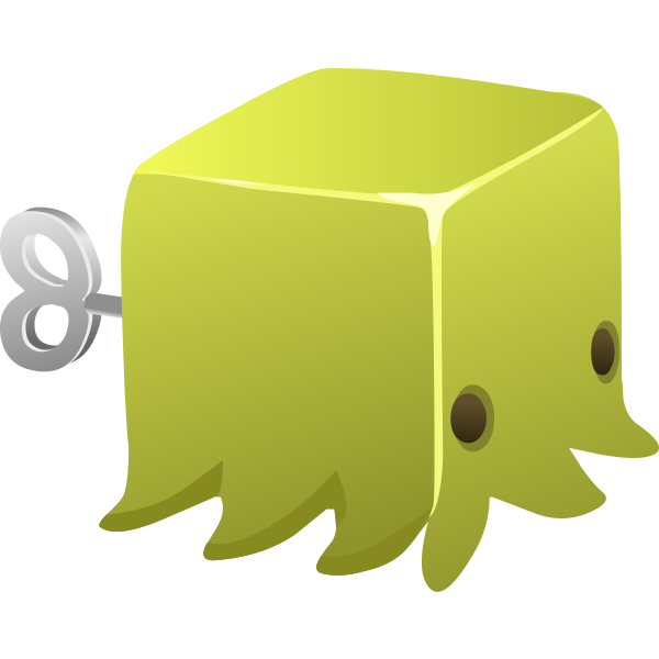 Green squid image
