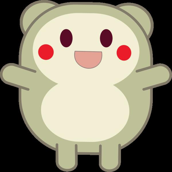 Cute critter vector illustration