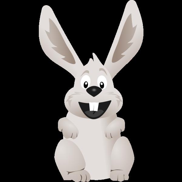 Comic rabbit
