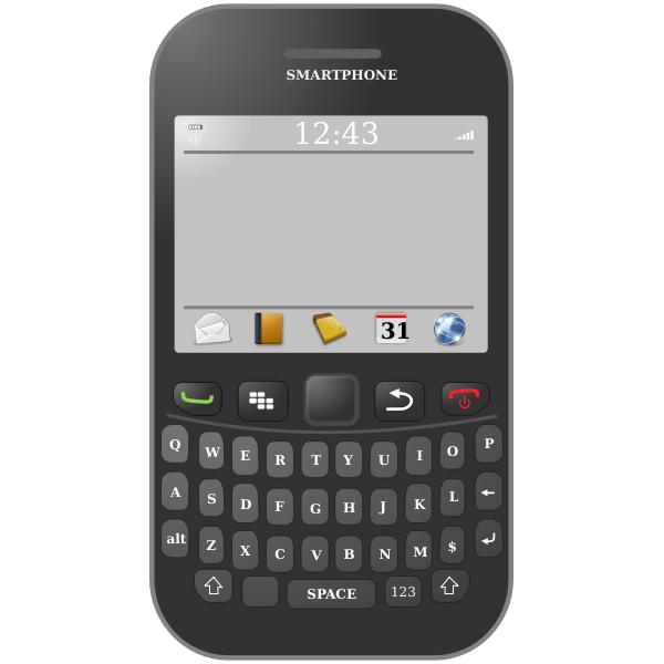 cyberscooty smartphone qwerty