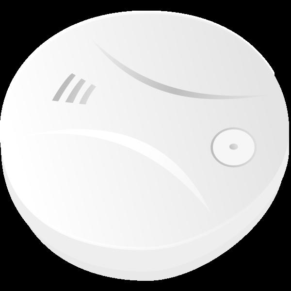 Smoke detector vector drawing