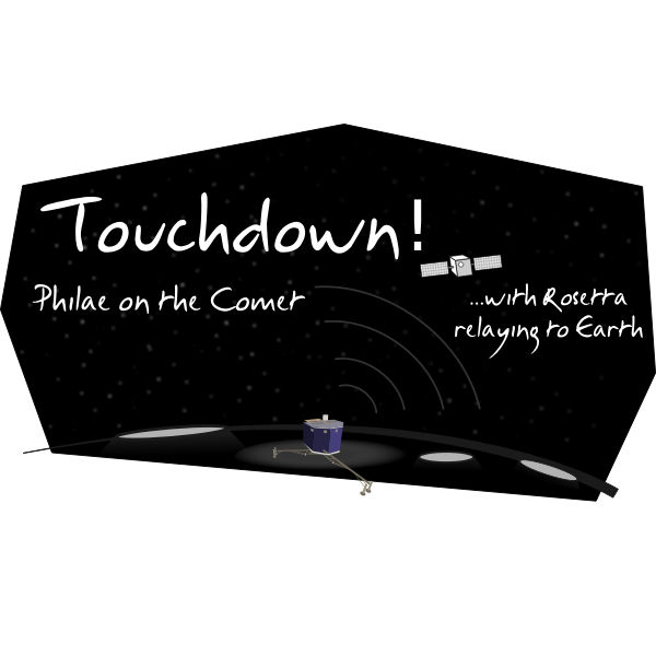 cyberscooty touchdown philae on the comet