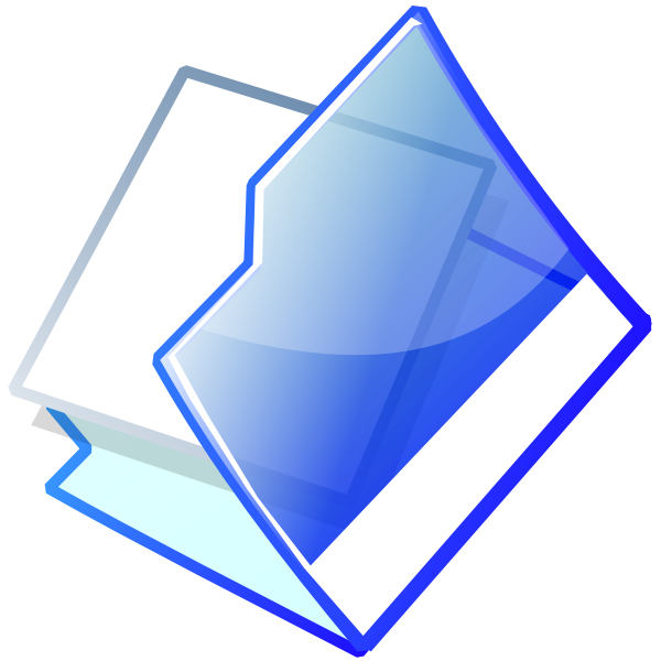 Office folder vector image