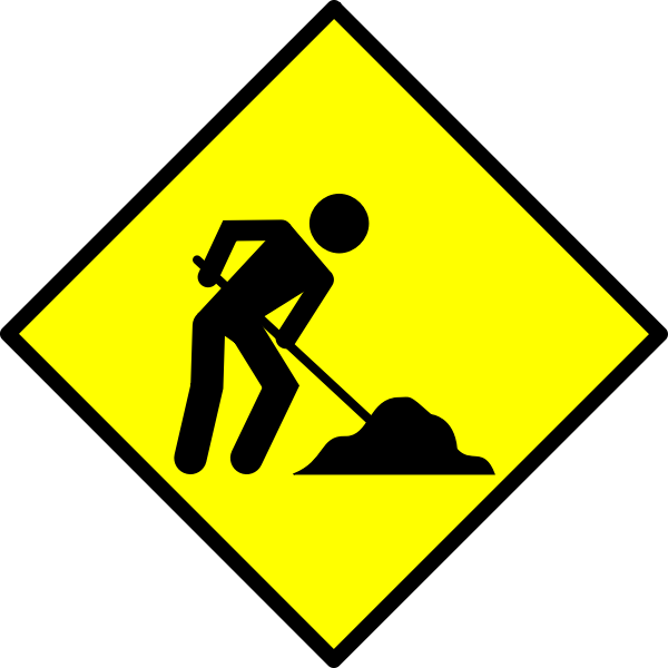 Under construction vector icon