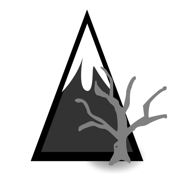 Dead forest mountain