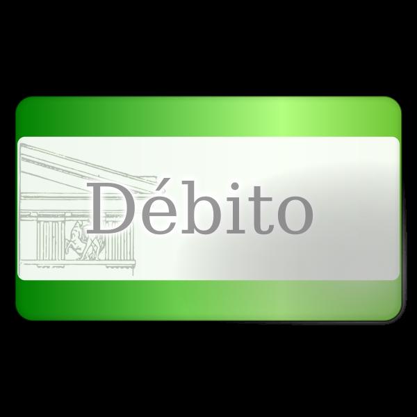 Debit Card Vector Icon