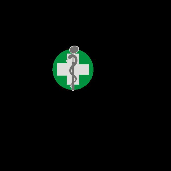 Vector graphics of dentist logo