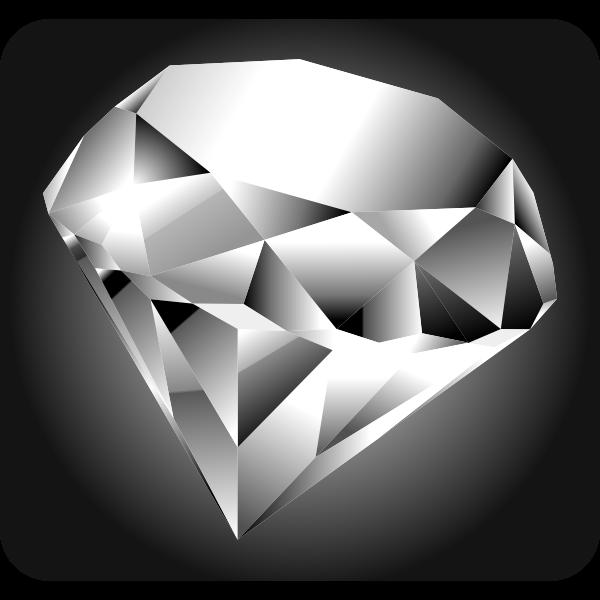 Blue diamond image