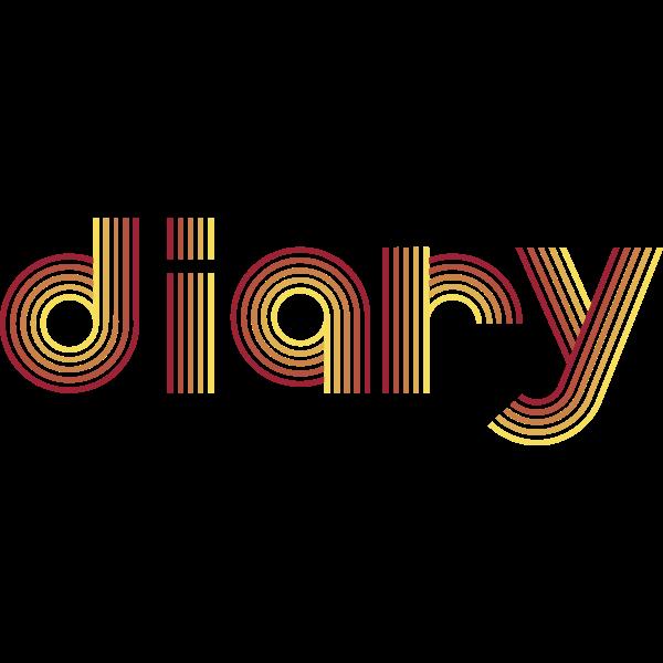 Diary typography