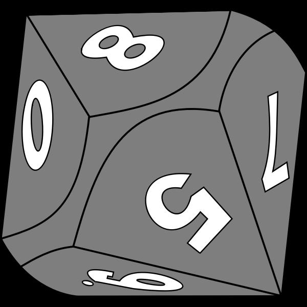 Grey dice
