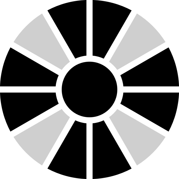 Digital dice vector image