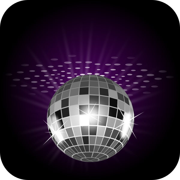 Disco ball lighting