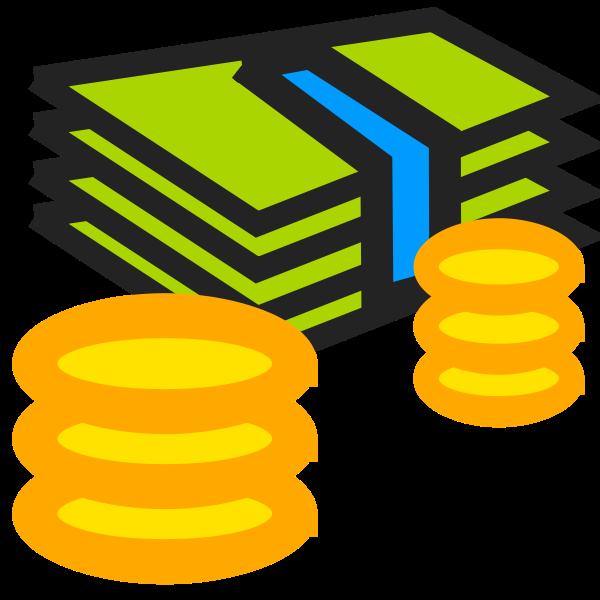 Money vector clip art
