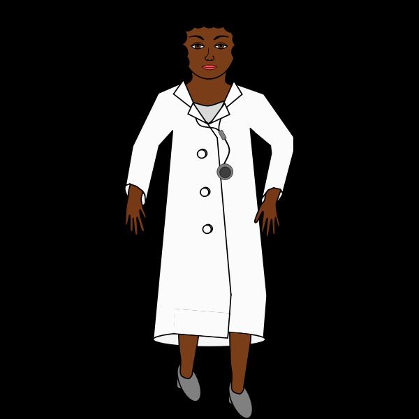 Lady doctor image