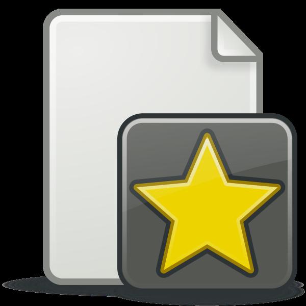 New document icon vector illustration