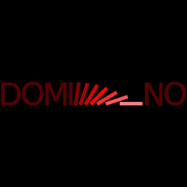 Domino logotype concept