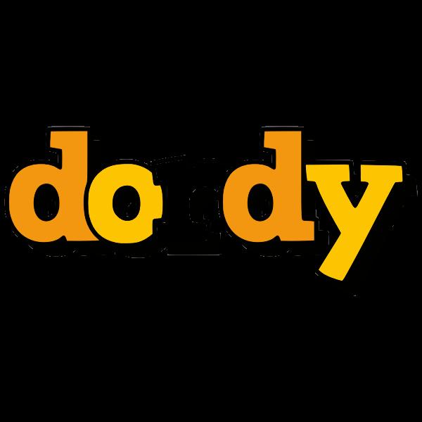 Dordy word stylized text